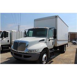 2012 INTERNATIONAL 4300 Box Truck; VIN/SN:3HAJTSKM6CL661039 -:- Int. diesel, Eaton A/T, 25,500# GVWR