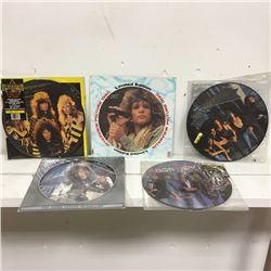 5 picture discs (1980s)