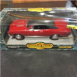 """American Muscle """"67 Chevelle L-78"""" Die Cast 1/18 Scale"""