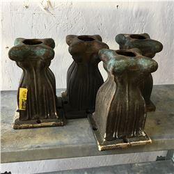 4 Shelf Risers - Cast Iron
