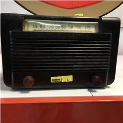 "Retro Electric Radio ""General Electric"" (Black)"