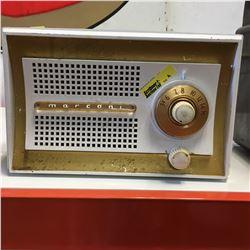 "Retro Electric Radio ""Marconi"" (White)"