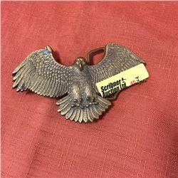 Belt Buckle: Brass Eagle