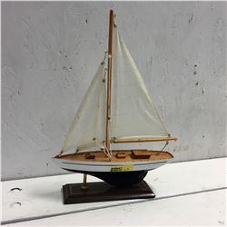 """Sail Boat Decor (14"""" High)"""