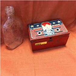 USA Budget Bank & Old Quaker Bottle & Key Collection
