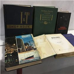 6 Books: Shop & Service Manuals