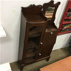 Oak Secretary / China Combo (Door Glass is Plexi) Early 1900's