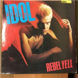 Record Album: Rebel Yell - Billy Idol