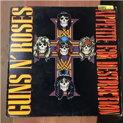 Record Album: Appetite for Destruction - Guns n' Roses