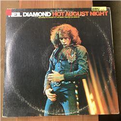 Record Album: Hot August Night - Neil Diamond
