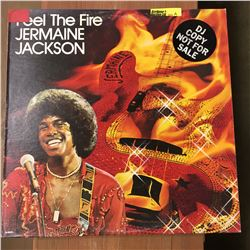 Record Album: Feel the Fire - Jermain Jackson