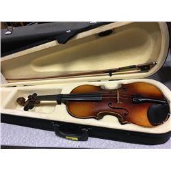 """Violin w/Case """"Copy of Antonius Stradivarius"""""""
