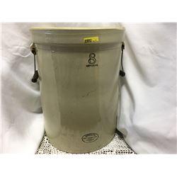 8 Gallon Imperial Medalta Potteries Ltd. Crock w/Handles