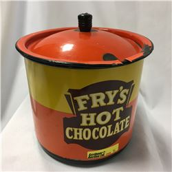 Fry's Hot Chocolate Enamel Pot