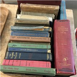 Tray Lot: School Books (20)