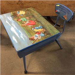 Students Desk - Artfully Painted