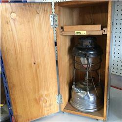 Tilley England Lantern in Orig Wood Box