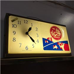 Co-Op Diary Light Up Electric Clock
