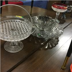 Glassware Grouping (5 Pieces)