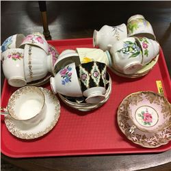 Tea Cups & Saucers Collection (14)