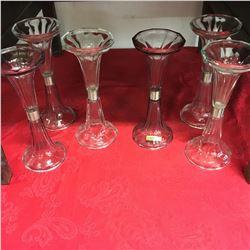 6 Glass Stanchions (Display Shelf Risers)