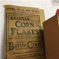 Krinkle Corn Flakes Cardboard Advertising (2)