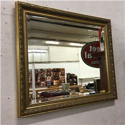 Framed Bevelled Mirror