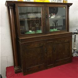 China Hutch/Combo (Possibly Refurbished from Old Piano?)