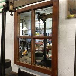Framed Mirror / Window Look
