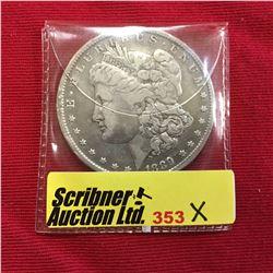 US Morgan Silver Dollar 1889
