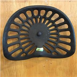 Cast Iron Implement Seat