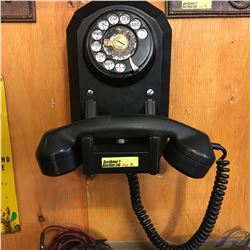 Wall Mount Phone - Round Top Rotary