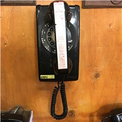2 Rotary Phones (1 Wall Mount 1 Desk Top)