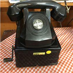 2 Vintage Closed Circuit Desktop Telephones