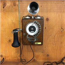 Antique Automatic Electric Co. Chicago, ILL Strowger Wall Phone
