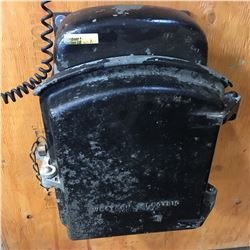 Western Electric 336E Telephone (Large Black Cast Case)