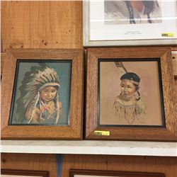 2 Wood Framed Prints: by Oxborough