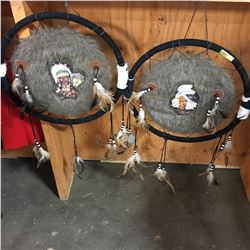 "2 Dream Catchers (16"" Dia)"