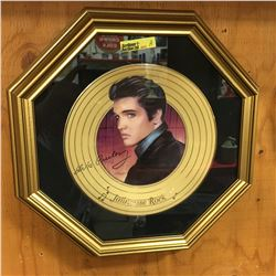 Elvis Presley Jail House Rock Collector Plate in Frame