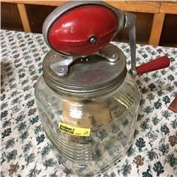 Butter Churn Jar