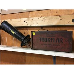 Leak Proof Trunk Flare Anthes Force Oiler Co. Metal Box & Ahooga Horn