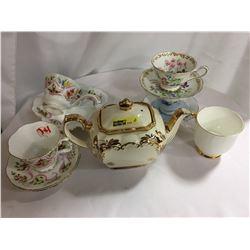 """Tea Pot """"Sadler"""" (Anniversary) + Royal Albert Various China"""