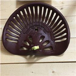 "Cast Iron Implement Seat ""Farmall"" Rock Island, IL USA"