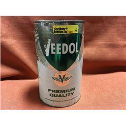 Oil Quart Tin - Full : Veedol