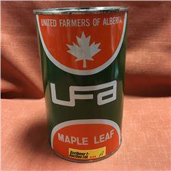 Oil Quart Tin - Full : UFA