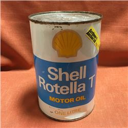 Oil One Litre Tin - Full : Shell Rotella T