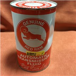 Oil Quart Tin - Full : Red Ram ATF
