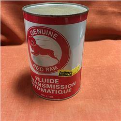 Oil One Litre Tin - Full : Red Ram ATF