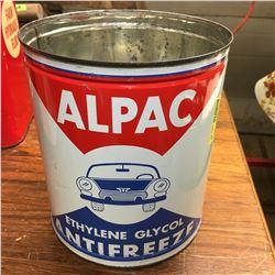 """Antifreeze Tin : 1 Gallon """"Alpac"""""""