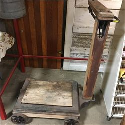Rolling Portable Beam Scale